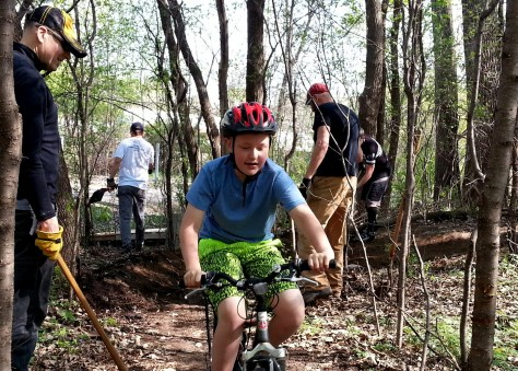 kids riding trail reroute 2