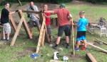 CROCT volunteers - Sechler skills park