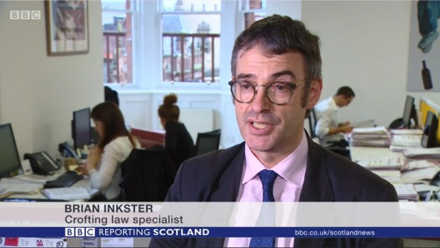 Brian Inkster - Crofting Law Specialist - BBC Reporting Scotland