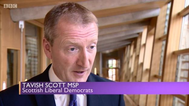 Sunday Politics Scotland - Crofting Commission Crisis - Tavish Scott MSP
