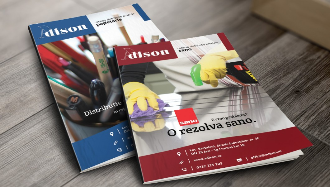 Adison Catalog Covers Cromatic Design - Full web developement services
