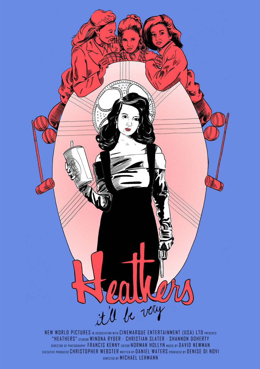 Broadway Quotes Wallpaper The Gallery For Gt Heathers Movie Poster