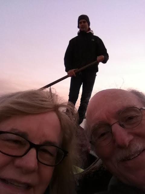 carole berley and beyond bad travel selfie