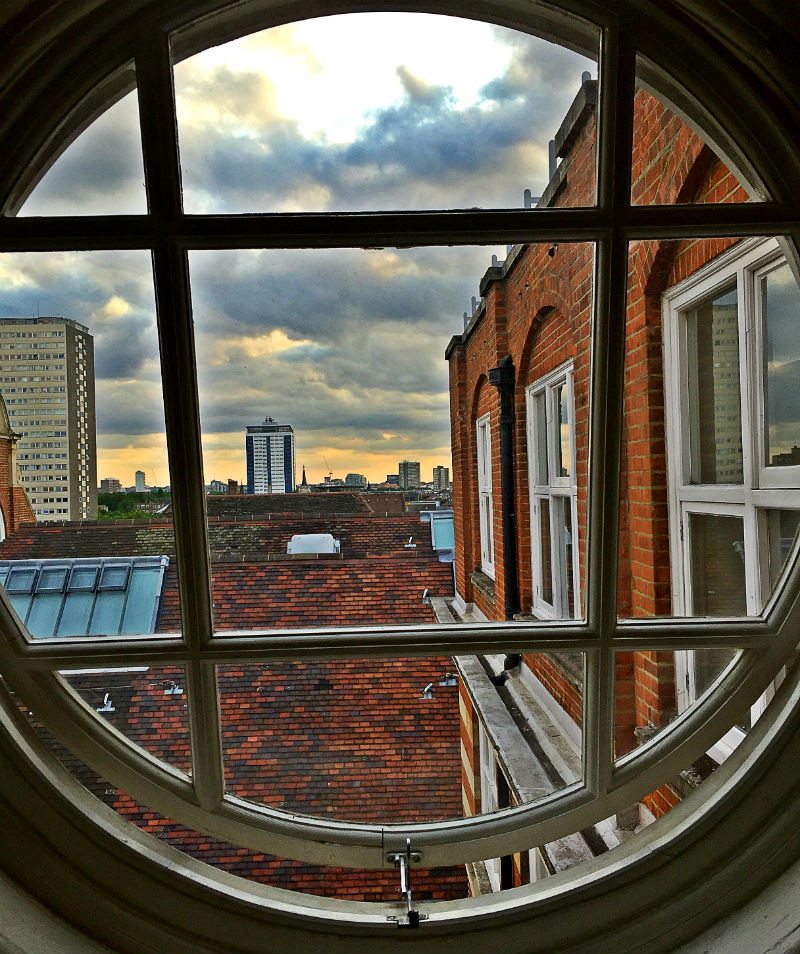 window in battersea london eileen cotter wright