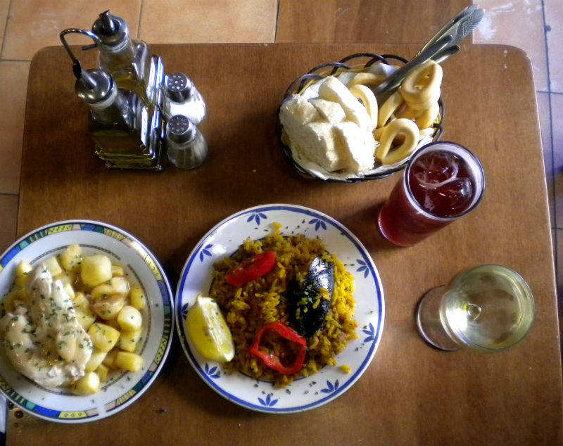 paella and tapas in spain eileen cotter wright