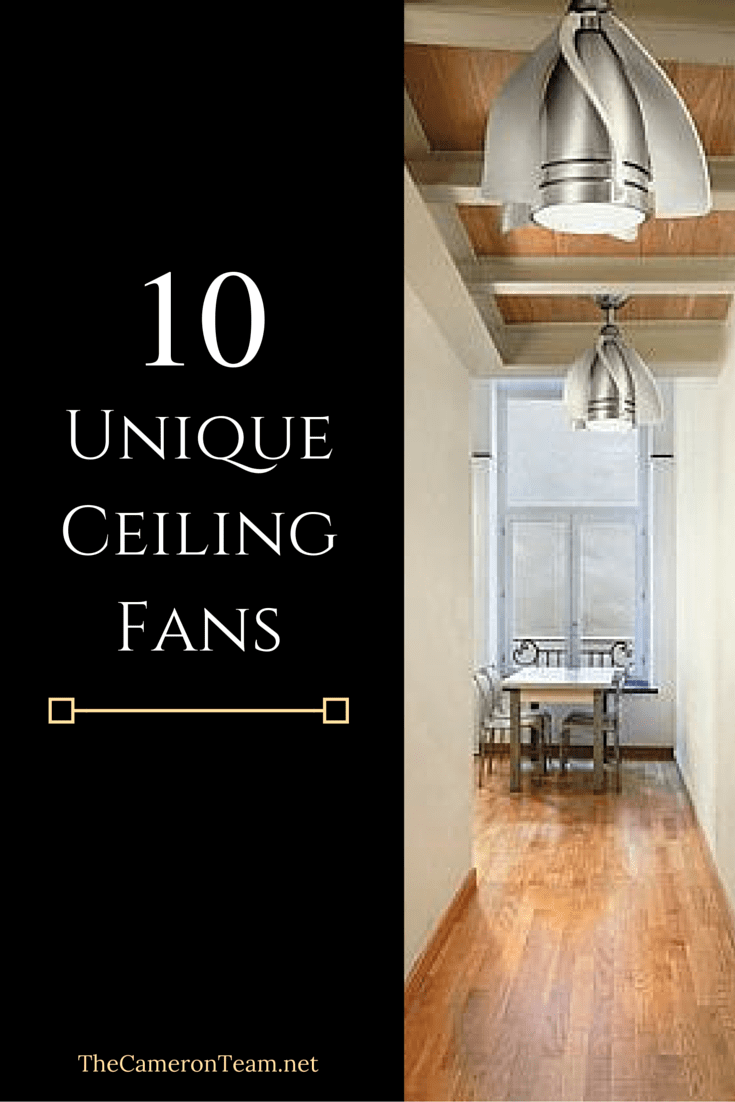 Unusual Ceiling Fans For Sale 10 Unique Ceiling Fans For Your Home The Cameron Team