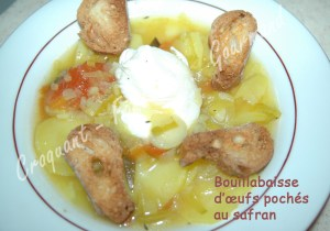 Bouillabaisse d'œufs pochés au safran - DSC_7235_15628