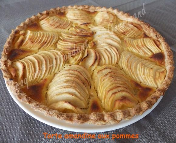 Tarte amandine aux pommes DSCN0624_30162