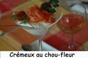 Crémeux de chou-fleur au saumon fumé Index - septembre 2009 125 copie