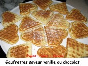 Gaufrettes saveur vanille ou chocolat Index 029 copie