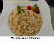 Mafalde sauce citronnée Index DSCN6130