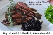 Magret cuit à l'étouffé, sauce chocolat Index _DSC0425_6695