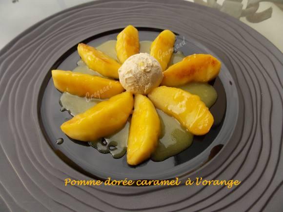 Pomme dorée-caramel orange DSCN6449
