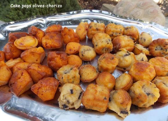 Cake Pops Aux Olives Et Chorizo