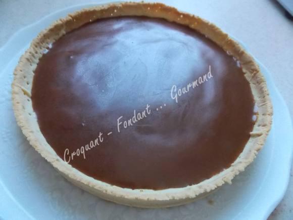 Tarte caramel-chocolat DSCN9711