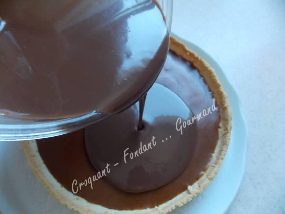 Tarte caramel-chocolat DSCN9713