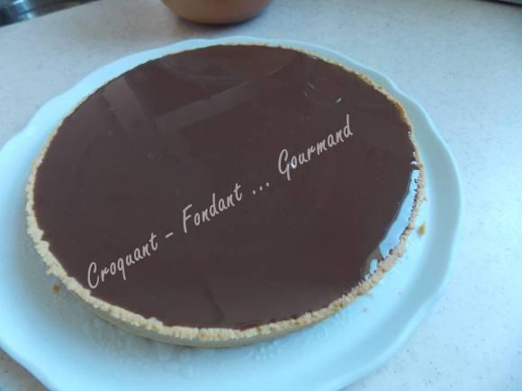 Tarte caramel-chocolat DSCN9714