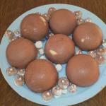 Dômes chocolat-poire à vous de jouer Agnès Fontaine 20151226_122231