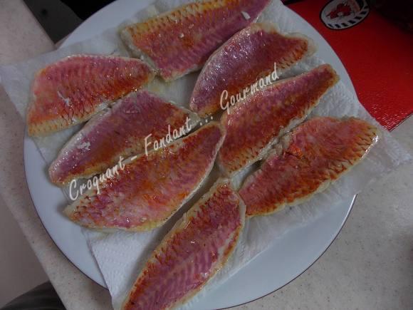 Salade aubergines et filets de rougets DSCN5195