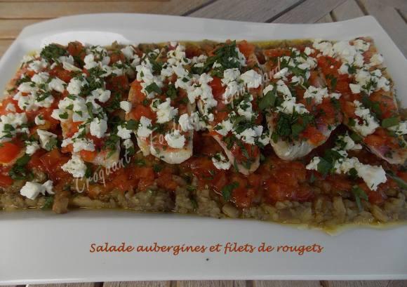 Salade aubergines et filets de rougets DSCN5203