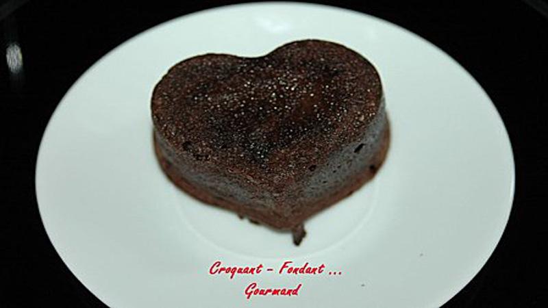 Cœurs moelleux au chocolat