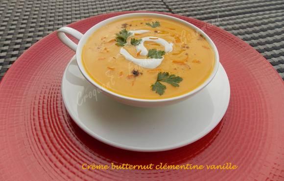 Crème butternut clémentine vanille DSCN2226