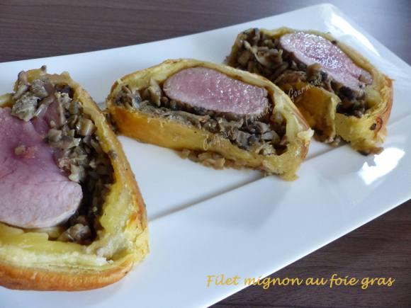 Filet mignon au foie gras P1000874