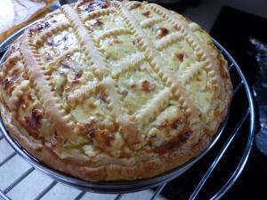 Tarte jambon-ricotta P1010089