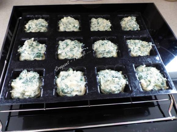 Muffins blancs et verts P1020415