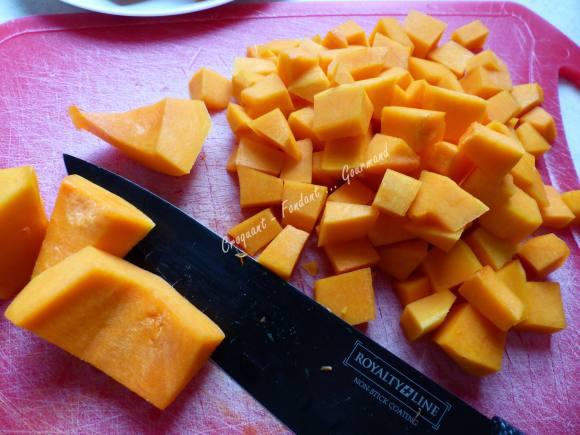 Polenta à la butternut P1010434