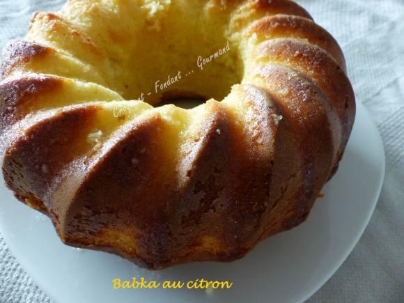 Babka au citron P1020429