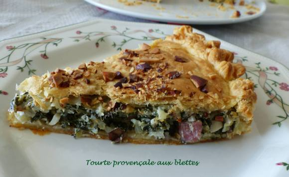 Tourte provençale aux blettes P1010228