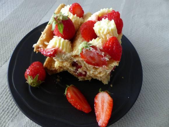 Millefeuille citron-fraise P1030066