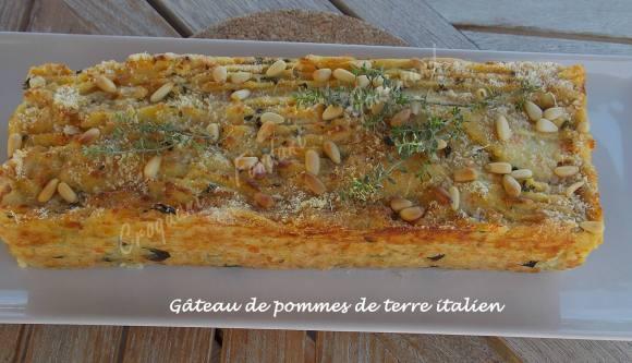 Gâteau de pommes de terre italien DSCN4691