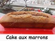 Cake aux marrons Index DSCN1802