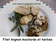 Filet mignon moutarde et herbes Index DSCN0024