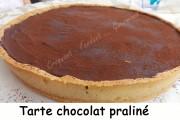 Tarte chocolat praliné Index DSCN9069