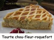 Tourte chou-fleur-roquefort Index DSCN1208