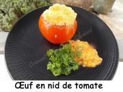 Œuf en nid de tomate Index DSCN0329