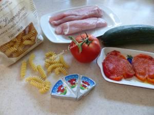 Pâtes aux légumes de l'été P1030632