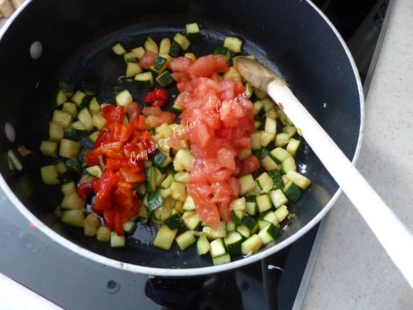 Pâtes aux légumes de l'été P1030640