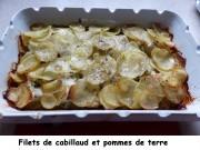 Filets de cabillaud et pommes de terre Index P1010340