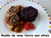Roulés de veau farcis aux olives Index P1030034
