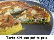 Tarte Kiri aux petits pois Index P1000847