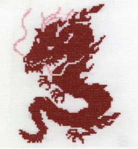 dragon_free_cross_stitch_pattern
