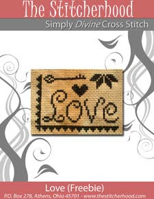 Free LOVE To Anyone Who Can Stitch