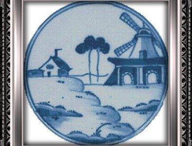 Free Chart – Windmill In Blue
