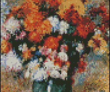 Free Cross Stitch Pattern – Vase