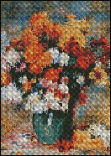 VaseChrysanthemums