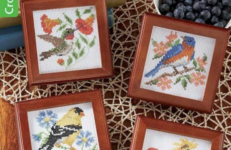 Stitch Up Some Birds with Birds of a Feather Booklet